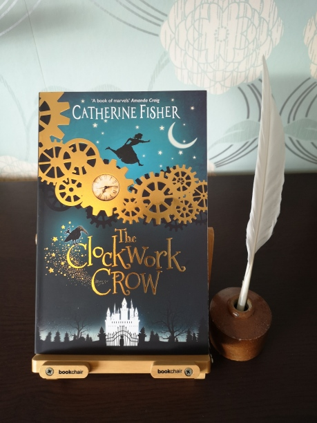 A photo of the book The Clockwork Crow by Catherine Fisher